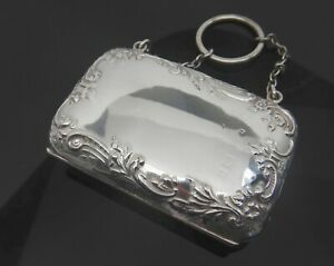 Antique Late Victorian Sterling Silver Dance Purse