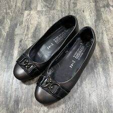 Mephisto Buckle Leather Flats Size 6.5 US