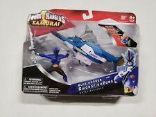 Power Rangers Samurai Blue Ranger with Swordfishzord New in Box