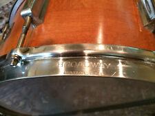 """Leedy Snare Drum 6½ x14""""Broadway Parallel 1936"""