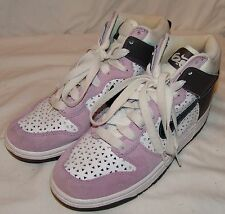 new styles fdfd6 2261c Nike Dunk Hi 6.0 Style 342257 Sneakers Shoes Athletic Womens 8 Purple White