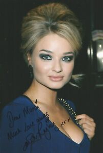 Emma Rigby Signed autographed inscribed lovely photo UACC and AFTAL Dealer
