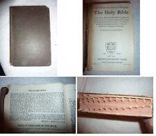 Holy Bible Thumb Indexed  KJV Oxford Press Christian Science  REDPATH (LotC) B7