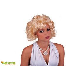 parrucca bionda marilyn monroe travestimento anni 50 - 60 donna di classe