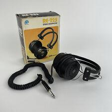 More details for ross re-225 vintage retro headphones boxed audio music listening equipment vgc