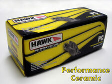 VF HSV FRONT OR REAR BRAKE PADS RED 4 PISTON HAWK CERAMIC PERFORMANCE PADS MALOO