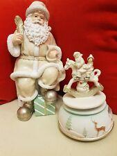 Babbo Natale 26 cm più carillon 16 cm