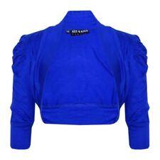 Pulls et cardigans bleu manches courtes pour fille de 2 à 16 ans