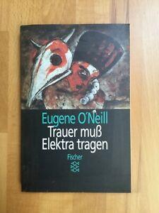 """Eugene O'Neill: """"Trauer muß Elektra tragen"""" (deutsch), Fischer Taschenbuch"""