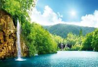 VLIES   Fototapete XXL Wasserfall Tapete Vliestapete 15F0117500