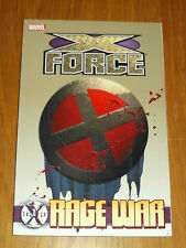 COUNTER X X-FORCE RAGE WAR MARVEL DOMINO GRAPHIC NOVEL< 9780785159735