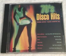 70's Disco Hits (CD) Various Artists NEW SEALED