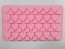 56 Holes Silicone Heart Shape Mould For Cake Decoration Chocolate Valentines