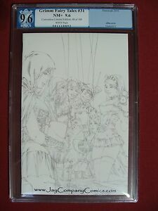 Grimm Fairy Tales 31 Sketch Variant Cover Limited to 100 PGX 9.6 Not CGC