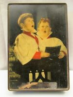 Vintage Edward Sharp & Sons Ltd Of Maidstone Kent Toffee Biscuit Tin Collectibl'
