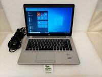 "HP Elitebook Folio 9470m 14"" HD+ Laptop Core i7-3667U 8GB RAM 500GB Win 10 Pro"