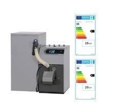 Pellux 100 Touch con 30 Kw Pelletanlage con 300L Caldera de Biomasa