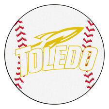 "Fanmats 3340 University of TOLEDO Baseball Mat 26"" Diameter"