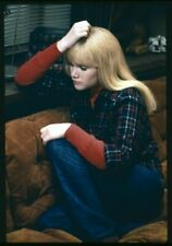 Tuesday Weld Original 4x5 Couleur Photo Transparence Slide
