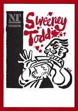 """Stephen Sondheim """"SWEENEY TODD"""" Julia McKenzie / Denis Quilley 1993 Program"""