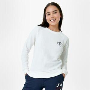 Jack Wills Womens Colby Sweatshirt Crew Sweater T Shirt Tee Top Jumper Pullover