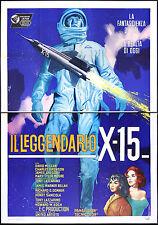 l'affiche du film X 15 mclean, bronson, gregory, DONNER