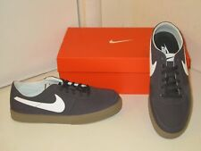 Nike Mavrk LR 6.0 Dark Charcoal Canvas Skateboard Sneakers Casual Shoes Mens 9