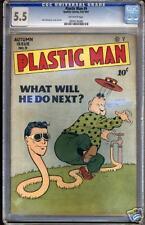 Plastic Man #9 CGC 5.5 FN- Universal