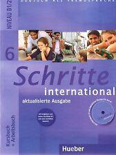 SCHRITTE INTERNATIONAL 6 Kursbuch+Arbeitsbuch mit Aufgaben+CD 2013 AUSGABE @NEW@