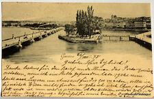CPA Precurseur SUISSE GENEVE   1898  voir scan ht def  Lae476