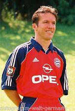 Lothar Matthäus Bayern München 1999-00 seltenes Foto+2