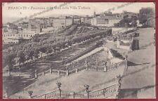ROMA FRASCATI 10 VILLA TORLONIA Cartolina viaggiata 1924