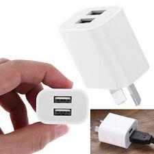 Universal Travel 5V 2A 2 Dual USB AC Wall Home Charger Power Adapter AU Plug