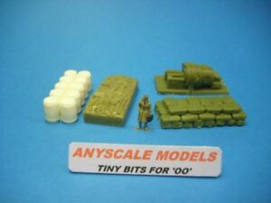OO gauge/4mm  railway accessories 4 mixed item wagon loads ANYSCALE MODELS 0129