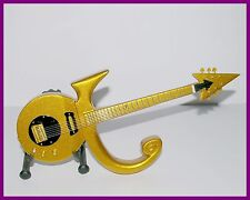 PRINCE ! GUITARE MINIATURE DE COLLECTION - LOVE SYMBOL GOLD ! OR Hero Funk Rock