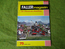 Faller ams   - Magazin Nr. 75