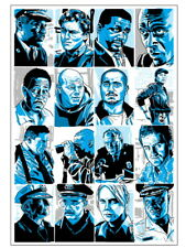 "Crime Drama TV Series Season Shows 24/""x34/"" Poster 024 The Wire"