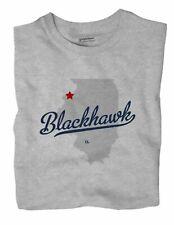 Blackhawk Illinois IL Ill T-Shirt MAP