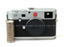 New Brass Curly Grass-Pattern Steel Hand Grip SIlver For Leica M240 M-P
