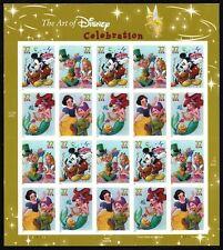 2005 - ART OF DISNEY (CELEBRATION) - #3912-15 Full Mint -MNH- Sheet of 20 Stamps