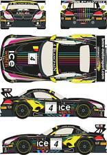 1/24 Decal BMW Z4 GT3 #4 Baku World Challenge 2013 for Fujimi