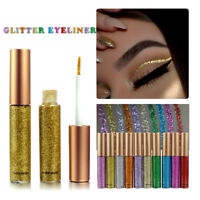 Eyeshadow Liquid Waterproof Glitter Eyeliner Gel Shimmer Makeup Cosmetics hi