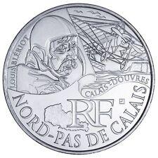 """Pièce de 10 euros des régions """"Nord pas de Calais"""" 2012."""