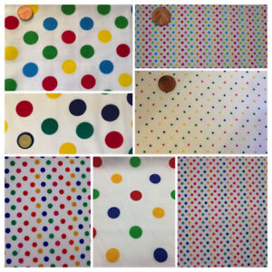 CHILDREN IN NEED Pudsy Blush Spot Fabric Per Metre Fat Quarters Costume Dress up