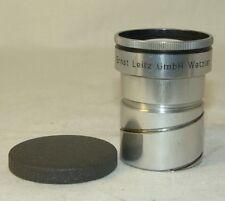 Ernst Leitz GmbH Wetzlar DIMARON  2,8/100mm. projector Lens,old rare