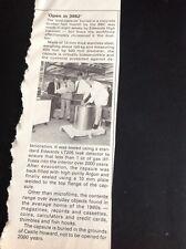 L3-7 Ephemera 1981 Article Edwards High Vacuum Makes Bbc Time Capsule