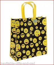 Emoji Emoticon Icon Bag Large Reusable Shopping Bag Girls Emoji Bag