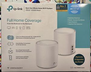 🔥 TP-LINK Deco W3600 WiFi 6 AX1800 Mesh WiFi Router NEW SEALED BOX 🔥