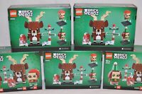 **NEW** LEGO Brickheadz 40353 ELF, REINDEER, ELFIE. IN STOCK SHIPS NOW