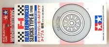 """Tamiya F103 Type A Reinforced Slicks Tires Rear (Rennreifen) """"NEW"""" 53350"""